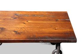 table top. Farm Table Top With Anchor Chain Legs Coffee