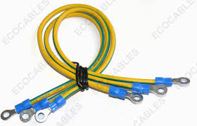 ul1015 14awg electrical wire harness industrial battery cable harness
