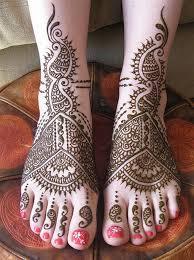 Fotka Nohy S Tradičním Tetováním Hennou Menhdi Moje Nožky