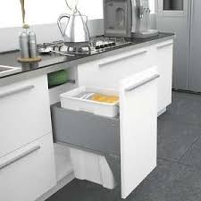 Image is loading Sige-Pull-Out-Kitchen-Waste-Bin-Soft-Close-