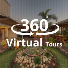 a 360 degree virtual tour is a simulation of a real location made with a including still photography 360 degree panoramas
