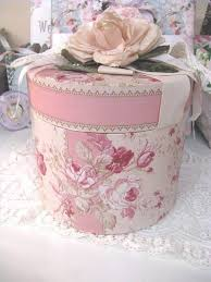 Decorated Hat Boxes How to Decorate a Hat Box Hat boxes Decorating and Box 2