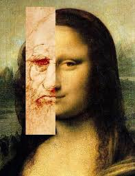 mona lisa self portrait