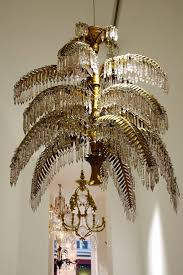 joseph hoffmann and bakalowitz palm tree chandelier bibliography model shown in the exhi
