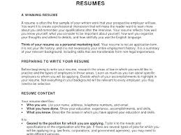 Objective In Resume Sample For Job Good Objectives Resume Objective