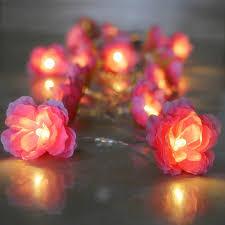 diy christmas lighting. Contemporary Lighting 4m 40pcs Christmas Lights Creative DIY Manual Small Silk Flower Warm White  Battery LED String Fairy Intended Diy Lighting G