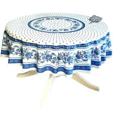 coated tablecloth tradition yellow provence tablecloths round