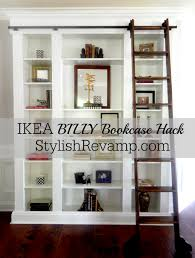Built In Bookshelf Ideas Diy Library Wall For Less Than 600 Library Wall Ikea Billy And
