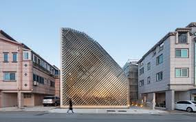 and architects louverwall parametric design south korea aluminium louvers louver system