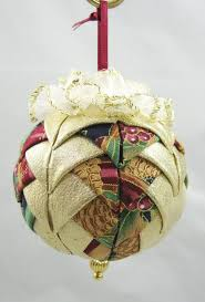 183 best No Sew Quilted Ornaments images on Pinterest   Christmas ... & Quilted Chrismas Ornament Mauve and Gold 319 by VictorianBelles, $7.25 Adamdwight.com