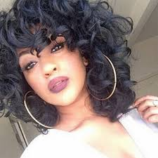 2017 Lolita Curly Full Wig Bob Hairstyle Wigs Afro Curly African American Black Wigs Size Pack Of 1 Color Black Brown