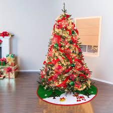 <b>Non woven Christmas Xmas Tree Skirt</b> Circle Snowman Pattern ...