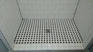 sloped shower pan large size of kit for kits tile hydro pre wedi tray sloped shower pan large size of kit