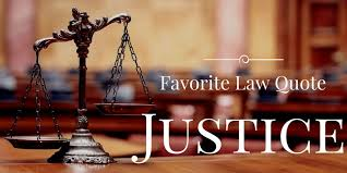 Quotes About Justice Awesome Favorite Law Quote About Justice Kenneth M Manusama