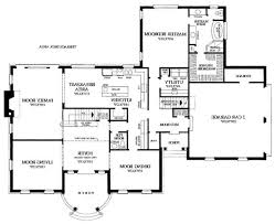 house plan 3 story open mountain house floor plan asheville mountain house 4 bedroom modern