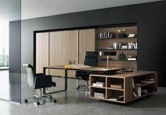 modern executive office design. Amazing And Cool Modern Office Room Design Interior With Executive Desks Home Black Arm Chair Large Wooden Shelf Cabinet