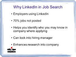Tech Tuesday Using Linkedin For Your Job Search Power Of Linkedin