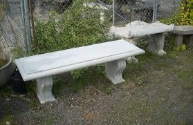 concrete garden bench. Concrete, Outdoor, Garden Tables And Benches In Portland, Oregon Concrete Bench N