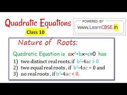 Pin By Suzanne Book On Algebra Roots Of Quadratic Equation