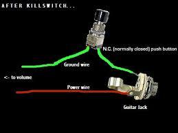 alexplorer's axe hacks kill switch guitar killswitch pedal at Guitar Killswitch Wiring Diagram