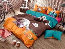 dog bedding set image of awesome pattern linen bedding sets baby bedding sets dog theme