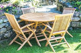 best of round wood patio table for round wooden garden table and chairs image of round