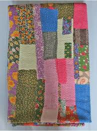 136 best Quilts - Kantha/Indian Quilts/Blankets images on ... & Vintage Indian Kantha Design 2, Made in rural Jaipur from old recycled saris  and sewn by hand these vintage Patchwork Kantha Quilts are approximately  40-50 ... Adamdwight.com