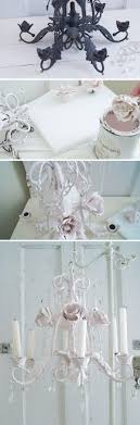 Diy Shabby Chic Chandeliers Easy Craft Ideas