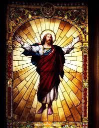 Stained Glass Jesus Glass Art by Mountain Dreams