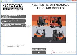 online buy whole toyota forklift from toyota forklift forklift 7 series repair manuals for toyota mainland