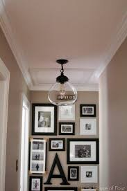 contemporary hallway lighting. little house of four new hallway light update contemporary lighting i