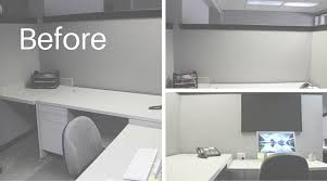 how to decorate your office. plano profile beautify your life project collage of cubicle before diy decor how to decorate office