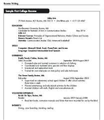 Babysitter Resume Example Impressive Babysitter Sample Resume Sample Resume For Nanny College Student