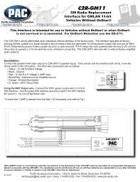pac wiring diagram wiring diagram list tour pac wiring diagram electrical wiring diagram rally pac wiring diagram c2r gm11 gm radio replacement