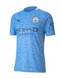 20/21 Man City home Home Shirt - FB4U