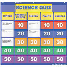 4 Column Pocket Chart Paper Learning Resources 2 4 Column Double Sided Pocket