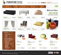 Website Design Furniture Store line Custom Website Design