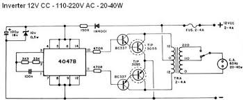 schematic diagram of power inverter 12v to 220v images ac power 40w inverter circuit diagram jpg