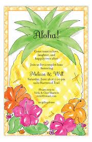 Pineapple Luau Invitation Rb Nppyrb Cute Luau Birthday Party