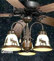 rustic wildlife ceiling fans rustic cabin ceiling fans bronze lodge style ceiling fan decorating styles for apartments