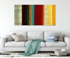 modern abstract painting pictures artwork for decor canvas printing home decoration color block abstract wall art