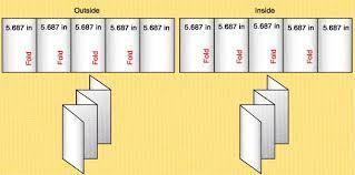 4 sided brochure template 6 fold brochure template brickhost 190eae85bc37