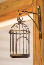 Product title bird cages wall decor, deco box. Summer Songbird Wall Hanging Bird Cage Kensington Row Garden Decor
