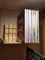 12 deep x 24 wide art storage rack