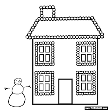 Small Picture Xmas Christmas Lights Online Coloring Page