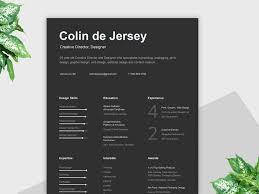 Free Resume Print And Download Clean Dark Resume Template Free Download Resumekraft
