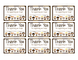 Free Printable Thank You Postcards My Fashionable Designs Girl Scouts Brownies Free Printable