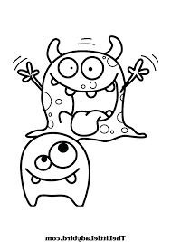 Monster Coloring Pages 488websitedesigncom