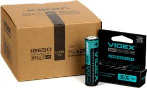 14 отзывов на <b>Аккумулятор VIDEX 18650</b> 3000mAh 1pcs/box с ...
