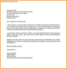 10 A Letter Of Request For Financial Assistance
